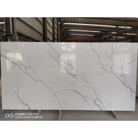 Wholesale Gray Vein Calacatta Gold Quartz That Looks Like White Artificial Marble China factory from china suppliers