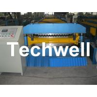 Wholesale 18 Forming Stations Double Layer Roll Forming Machine For IBR, Corrugated Sheets With PLC from china suppliers