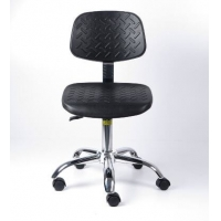 Buy cheap BIFMA Cleanroom PU Leather ESD Chair 400*400mm from wholesalers
