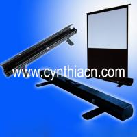 Wholesale Cynthia Portable Scissor Pull Up Projector Screen 60 Inch from china suppliers
