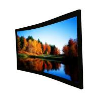 """Wholesale Custom Cinema Projection Screen / Curved Projector Screen 92"""" from china suppliers"""