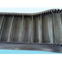 Wholesale Large Inclined Curved Conveyor Belt , Wave Shaped Heavy Duty Conveyor Belt from china suppliers