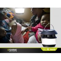 Wholesale Portable Rechargeable Solar Camping Lantern 8 Led with Hand Crank from china suppliers