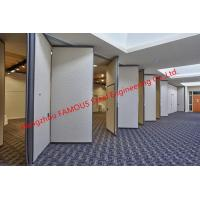 Wholesale Panel Folding Fabric Doors Soundproof Fast Sliding Wall Partition Doors For Conference Room from china suppliers