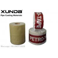 China UV Resistance Petroleum Petrowrap Anti Corrosion Tape For Pipe Fitting Flange on sale