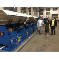 1200m / Min 560mm Straight Line Wire Drawing Machine With Full Immersed Lubricant System