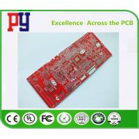 Wholesale Red Solder Mask FR4 PCB Board 1.6mm Thickness 1oz Double Side With Immersion Tin from china suppliers