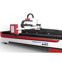 China 200w to 2000w metal sheet cutting machine , industrial laser cutting machinery on sale