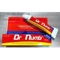 China Dr. Numb(Topical Anesthetic) 10g-strong quality Lidocaine 5% Topical Anesthetic on sale