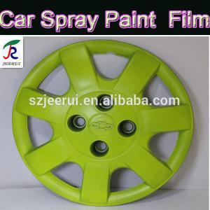 China 400ml/auto rubber spray paint/removable plasti dip/orange black green orange blue red/liquid aerosol flexible car paint on sale