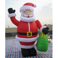 Ft christmas inflatable santa claus giant