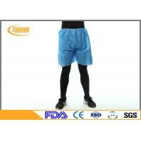 Wholesale Breathable Polypropylene Disposable Shorts Massage Pants XL XXL Size from china suppliers