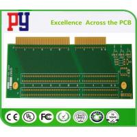 Wholesale Rigid Double Sided Circuit Board , Fr-4 Custom Pcb Fabrication Gold Finger from china suppliers