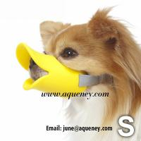 Wholesale Duckface Dog Muzzle Adjustable Duck Bill Dog Muzzle Available in 3 Colours from china suppliers