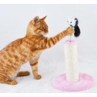 Wholesale Durable Flat Cardboard Cat Scratcher , Reversible Cardboard Scratching Pad SGS from china suppliers