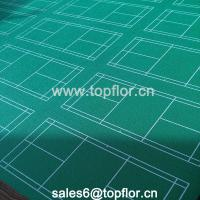 China Sport Mat Material Outdoor Synthetic Badminton Court Flooring on sale