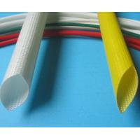 Wholesale Silicone Coated Fiberglass sleeving 6000V Individual Value -10ºC - +200ºC from china suppliers
