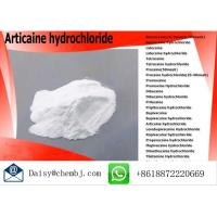 Wholesale Oral Pharma Grade Raw Powder Articaine hydrochloride CAS No 23964-57-0 from china suppliers