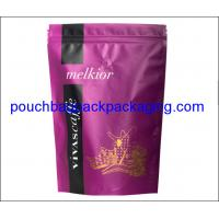Wholesale Coffee packaging pouch, stand up pouch with valve, zip lock coffee bag from china suppliers