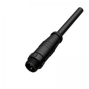 Wholesale 300V 4 Pin M14 Waterproof Circular Connector IP67 Molded With Cable from china suppliers