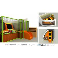 Wholesale 34M2 Chnia Indoor Trampoline Park with Good Quality and Lowest Price TUV Kids Sky Zone from china suppliers