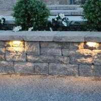 Low Voltage Garden Light 12V Led Stone Light Led Retaining Wall Light Led Ha
