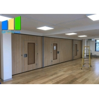 Wholesale Customzied Wooden Panel Partition Church Wood Dance Room Partition School Sliding Wood Partition Divider For Library from china suppliers