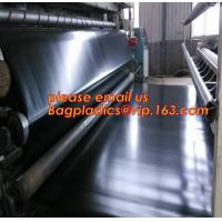 Wholesale geomembrane dam liner/ HDPE reinforced hdpe geomembrane fish farm pond liner for sale,dam liner 1mm hdpe geomembrane PAC from china suppliers