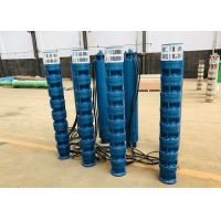 China Electric Submersible Borehole Deep Well Pumps 100hp 75kw 160m3/H 105m on sale