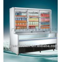 Wholesale Static R134a Combination Freezer Side Joint Integrated For Shop / Market from china suppliers