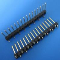 Wholesale Single row Pin header 2.54mm 16 pin smt type connector from china suppliers