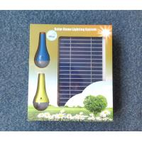 Wholesale 2Pcs 3W Mini Solar Home LED Lighting , Solar Powered LED Lights For Homes from china suppliers