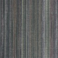 China Commercial Nylon Carpet Flooring Stripe Style Moisture - Proof Feature on sale