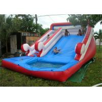 Wholesale Customized Funny Large Inflatable Water Slide For Pool , EN14960 from china suppliers