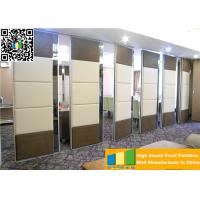 Sliding Ultrahigh Soundproof Folding Movable Wall Panels For High Exhibition