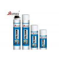 Wholesale Easy Using Polyurethane Foam Sealant , Spray PU Foam For Prevention And Installation from china suppliers