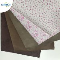 Wholesale Embossed  PU Leather Fabric Advanced Technology Thick  Polyestermaterial from china suppliers