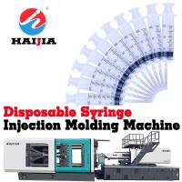 Wholesale Syringe Plastic Items Manufacturing Machine 2400KN Clamping Force Energy Saving from china suppliers