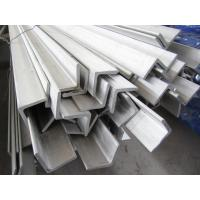 Wholesale 6m Grade 304 Stainless Steel Angle Bar Polished Peeled Grinding from china suppliers