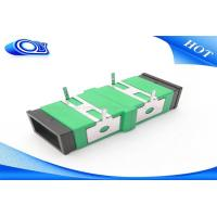 Wholesale PCB Board Fiber Optic Adapter Single Mode SC UPC APC Optical Cord Adapter from china suppliers