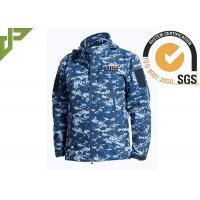 Wholesale Soft Shell Military Tactical Jackets 100% Polyester With Loop Knitting For Autumn from china suppliers