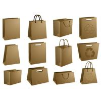 Wholesale brown paper bags with no handle from china suppliers