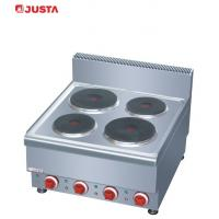 Wholesale JUSTA Counter-Top Electric Hot-plate Cooker Kitchen Equipment 600*650*475mm from china suppliers