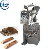 Wholesale 220v Automatic Coffee Packing Machine / Salt Packing Machine 25-145mm Film Width from china suppliers
