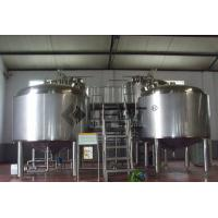 Wholesale Stainless Steel Turnkey Microbrewery Equipment Brewhouse System Craft Brewing Plant from china suppliers