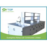 Wholesale Hospital PP Modern Laboratory Furniture Lab Bench With Sink Acid Resistance from china suppliers