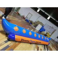 Single Tube Inflatable Pontoon Boats Fly Fishing Boats For 7 Persons Entertainment for sale
