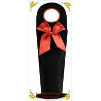 China Factory directly velvet wine bottle cover on sale