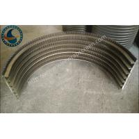 Wholesale Durable High Accuracy Parabolic Screen Filter OEM / ODM Acceptable 2000*1000mm from china suppliers