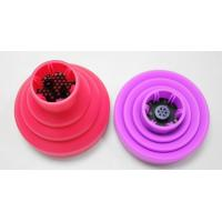 China foldable silicone hair dryer diffuser promotional silicone diffuser on sale